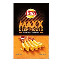 Lay's Maxx Deep Ridged Crackers - Hot Wings