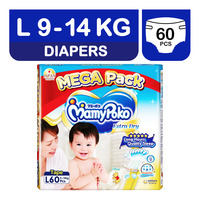 MamyPoko Extra Dry Skin Diapers - L (9-14kg)