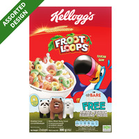 Kellogg's Cereal - Froot Loops + Free Figurine