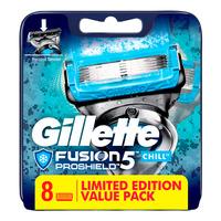 Gillette Razor Cartridge Refill - Fusion (Chill)