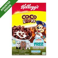 Kellogg's Cereal - Cocoa Loops + Free Figurine