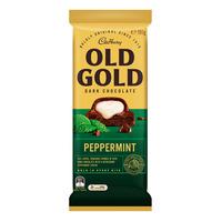 Cadbury Old Gold Dark Chocolate Bar - Peppermint
