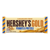 Hershey's Gold Chocolate Bar - Peanuts & Pretzels