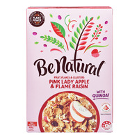 Be Natural Cereal - Pink Lady Apple & Flame Raisin