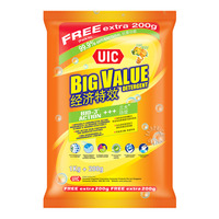 UIC Big Value Detergent Powder - Regular (Citrus Splash)