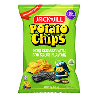 Jack'n Jill Potato Chips - Nori Seaweed with Soy Sauce