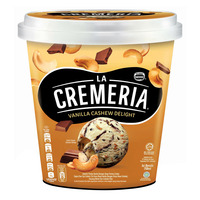 Nestle La Cremeria Ice Cream - Vanilla Cashew Delight