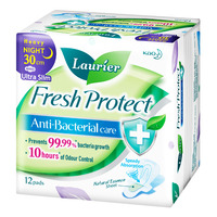Laurier Fresh Protect Night Pads - Heavy Ultra Slim(30cm)