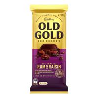 Cadbury Old Gold Dark Chocolate Bar - Old Jamaica Rum 'N' Raisin