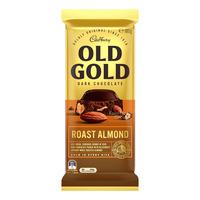 Cadbury Old Gold Dark Chocolate Bar - Roast Almond
