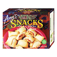 Amy's Organic Frozen Snacks - Nacho Cheese & Bean