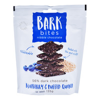 Bark Bites Dark Chocolate Nibble - Blueberry & Puffed Quinoa