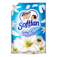 Softlan Anti-Wrinkles Fabric Conditioner Refill - Spring Fresh
