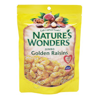 Nature's Wonders Golden Raisins - Jumbo