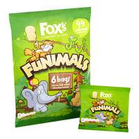 Fox's Funimals Mini Biscuit - Half Coated Chocolate