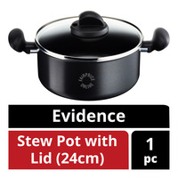 Tefal Evidence Stew Pot with Lid - 24cm