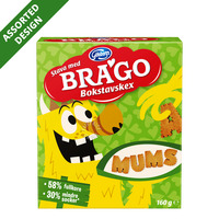 Brago Shaped Biscuits - Letter