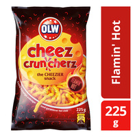 OLW Cheez Cruncherz - Flamin' Hot