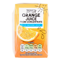 Tesco Juice From Concentrate Packet Drink - Orange