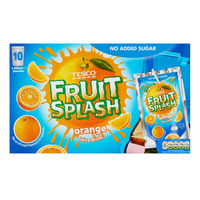 Tesco Fruit Splash Juice Drink - Orange