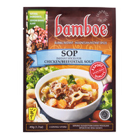 Bamboe Instant Soup Spices - Chicken + Beef + Oxtail