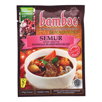 Bamboe Instant Semur Spices for Braised Beef & Chicken