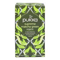 Pukka Green Tea Bags - Supreme Matcha Green
