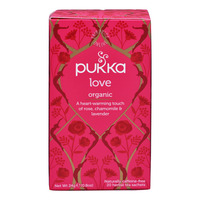Pukka Herbal Tea Bags - Love