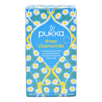 Pukka Herbal Tea Bags - Three Chamomile