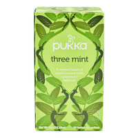 Pukka Herbal Tea Bags - Three Mint