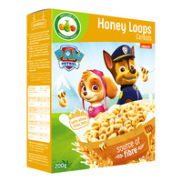 Paw Patrol Cereals - Honey Loops