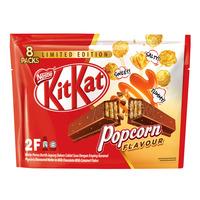 Nestle Kit Kat 2 Finger Chocolate Bar - Popcorn