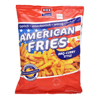 XOX American Fries Snack (BBQ-Curry)