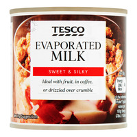 Tesco Evaporated Milk