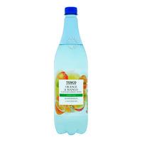 Tesco Flavoured Spring Water - Orange & Mango