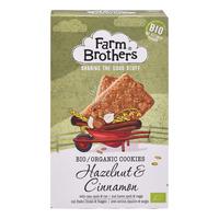 Farm Brothers Bio Organic Cookies - Hazelnuts & Cinnamon