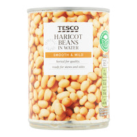 Tesco Beans in Water - Haricot