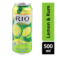 Rio Cocktail Can - Lemon & Rum