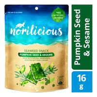 Norilicious Seaweed Snack - Pumpkin Seed & Sesame