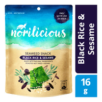 Norilicious Seaweed Snack - Black Rice & Sesame