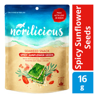 Norilicious Seaweed Snack - Spicy Sunflower Seeds