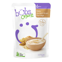 Bubs Organic Baby Porridge - Ancient Grain