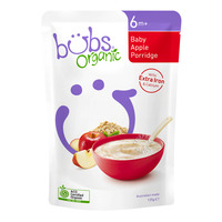Bubs Organic Baby Porridge - Apple