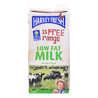Harvey Fresh UHT Low Fat Milk