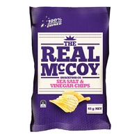 The Real McCoy Chips - Sea Salt & Vinegar