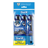 Oral-B 3D White Toothbrush - Charcoal White