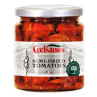 Coelsanus Semi-Dried Tomatoes in Sunflower Oil