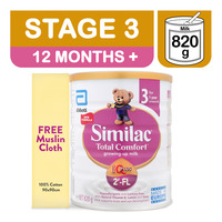 Abbott Similac Total Comfort Growing Up Milk Formula + FreeCloth