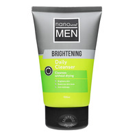 Nano White Men Daily Face Cleanser - Brightening