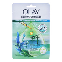 Olay Skinfusion Sheet Masks - Deep Sea Algae